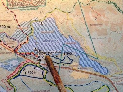 hellasgården karta Hellasgården – bergig 5 km vandring runt Källtorpssjön | Bortom  hellasgården karta